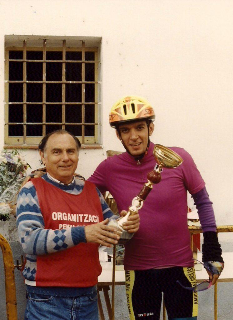 Baptista Garí, Marxa Ciclista Rutes Riberenques 1996