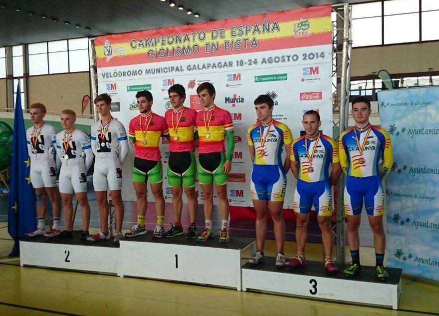 Manu Usach campionat d'Espanya de velocitat olimpica 2014