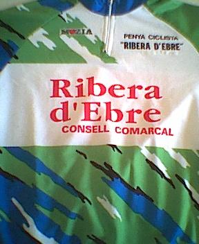 Equipació Penya Ciclista Ribera d'Ebre