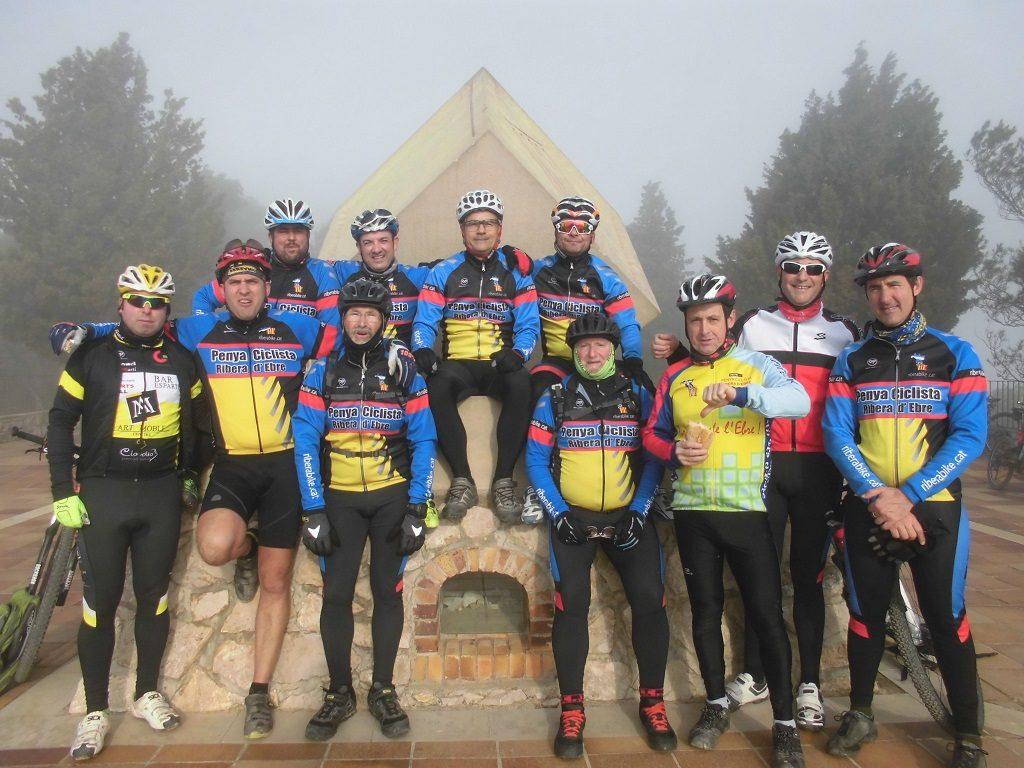 La Penya Ciclista Ribera d'Ebre a La Serra de Pàndols