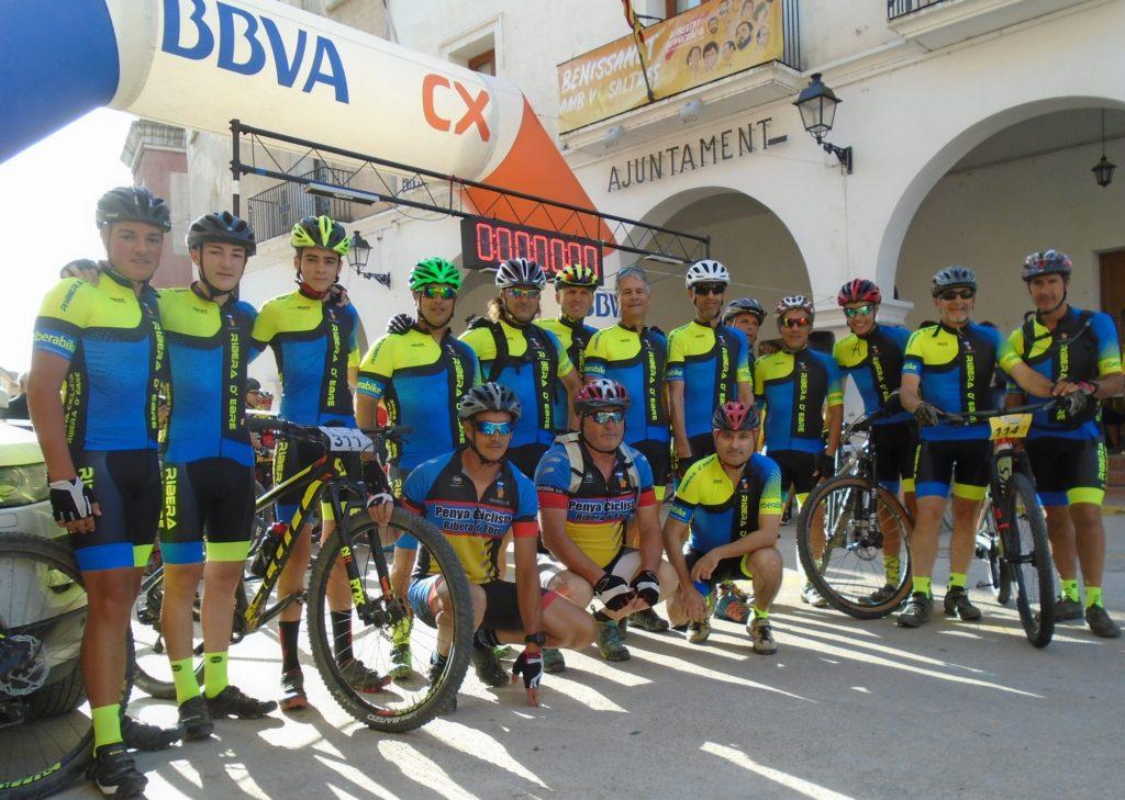 Presentació de la nova equipació. 2018. Penya Ciclista Ribera d'Ebre