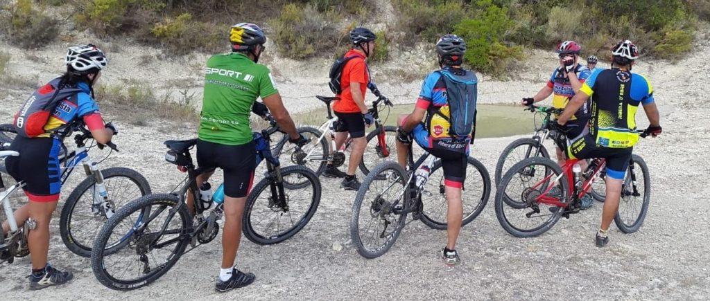 Sortida de nivell bàsic de la Penya Ciclista Ribera d'Ebre