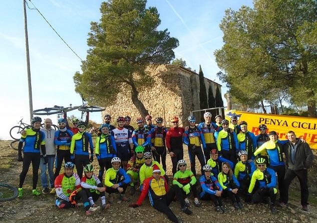 Pujada a Santa Magdalena es una prova social de la Penya Ciclista Ribera d'Ebre