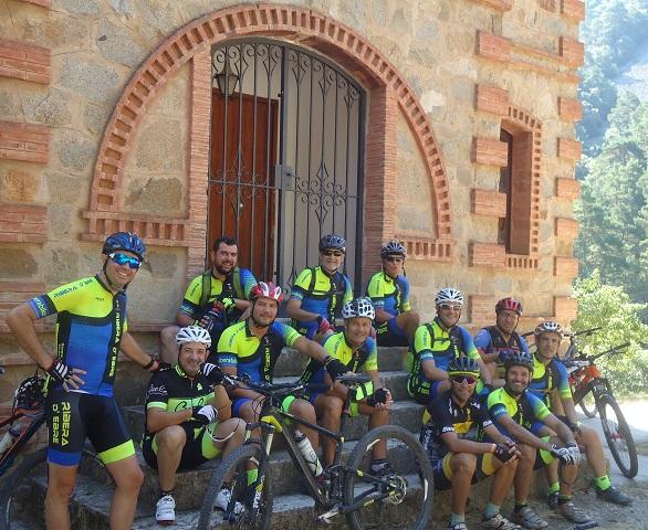 Sortida del 2018 de la Penya Ciclista Ribera d'Ebre al Tossal de la Baltasana