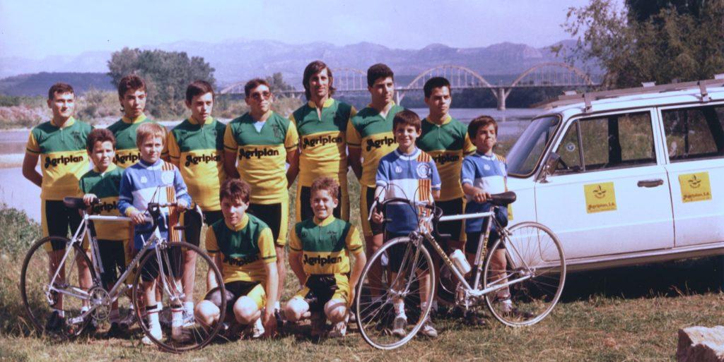 1986 Equip Agriplan Penya Ciclista Ribera d'Ebre