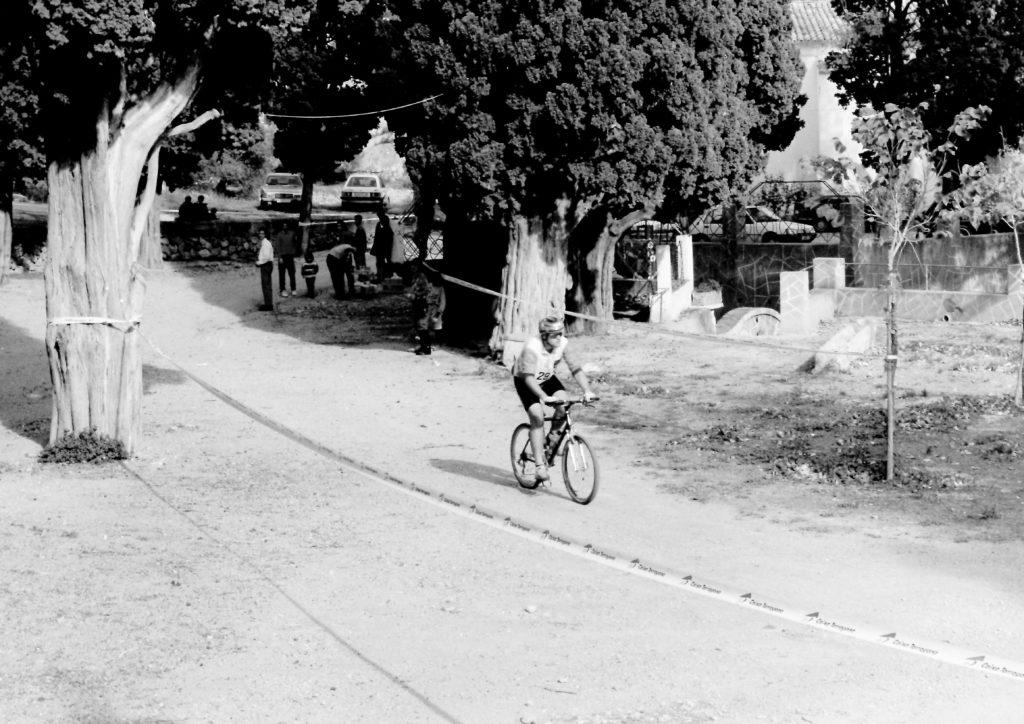 Història de la Penya Ciclista Ribera d'EbreLes primeres curses de BTT a Sant Jeroni