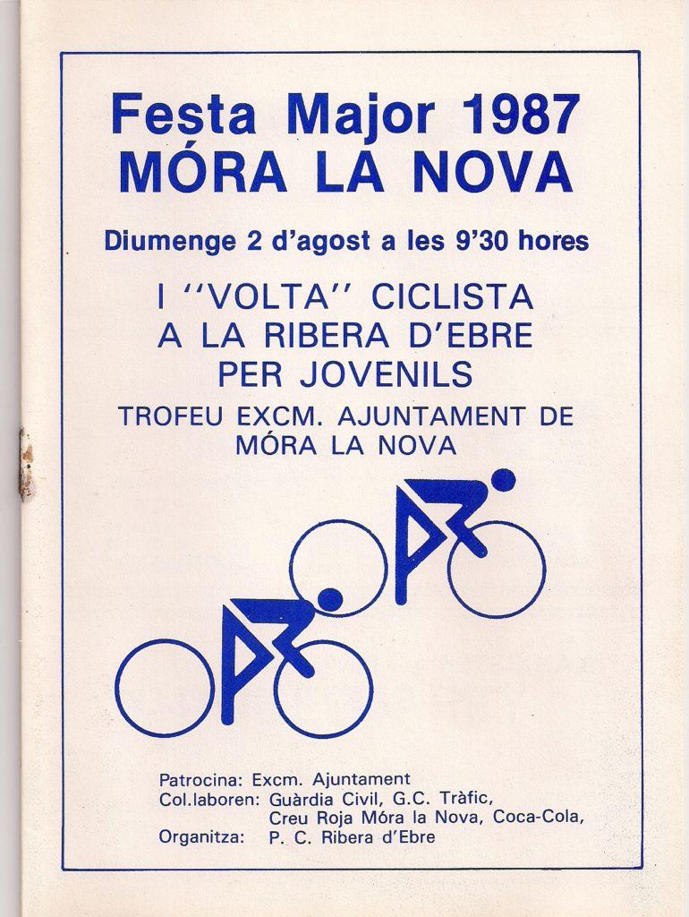1987 Volta a la Ribera d'Ebre Mora la Nova