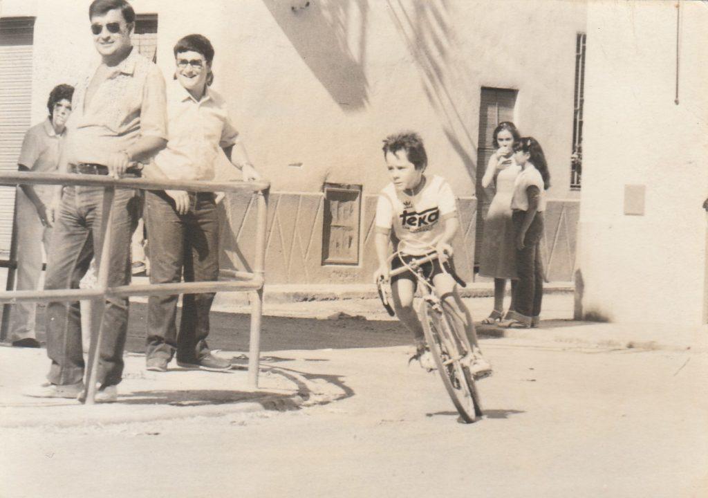 Gerard Roca 1982 cursa a Benissanet