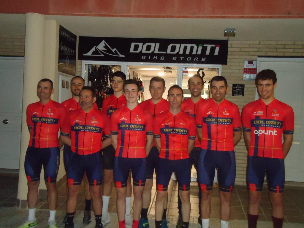 Presentació equip ciclista Dolomiti Bike Store Riberabike