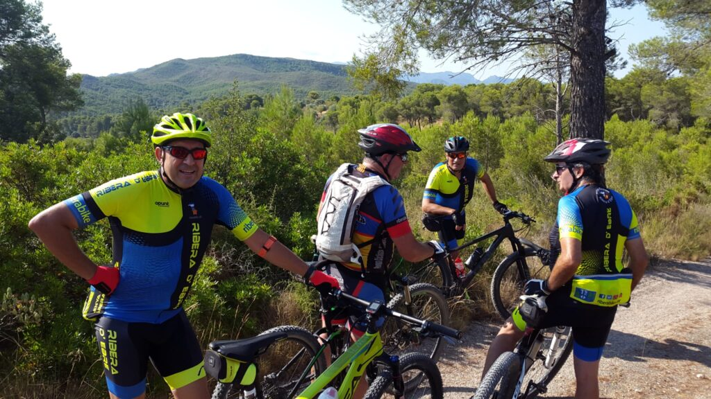 Grup bàsic BTT penya ciclista ribera d'ebre